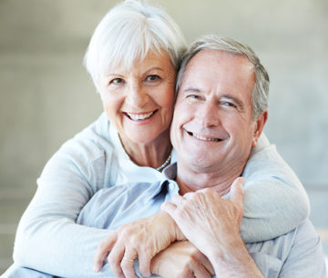 Elderly medicare couple cataract surgery