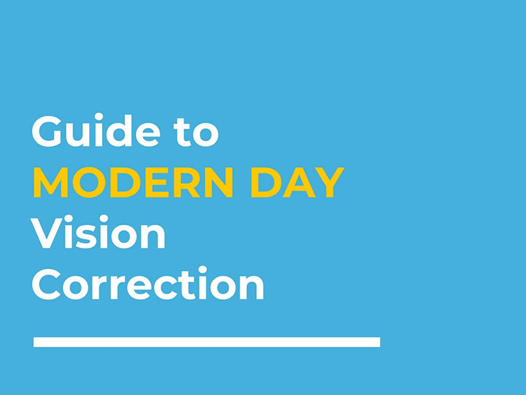 Modern Day Vision Correction