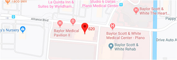 Plano, TX Map